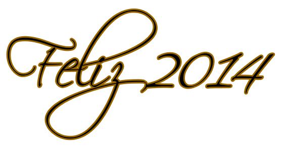 Feliz 2014 lleno de amor y amistad
