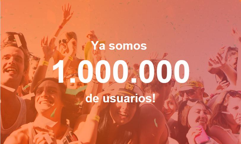 Un millon de usuarios registrados en mobifriends