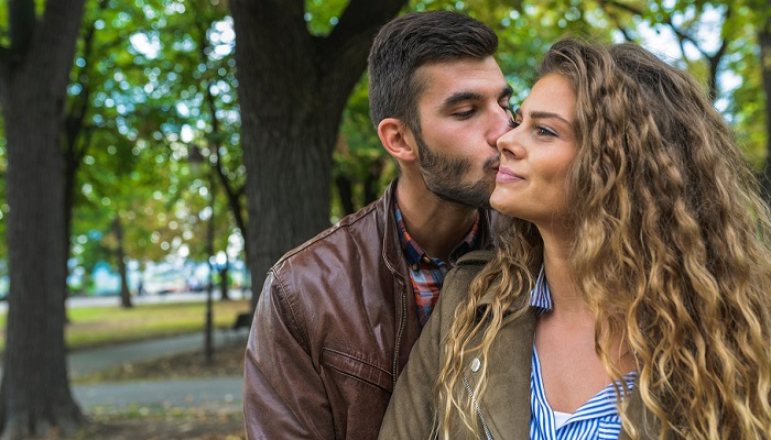 Beso de afecto