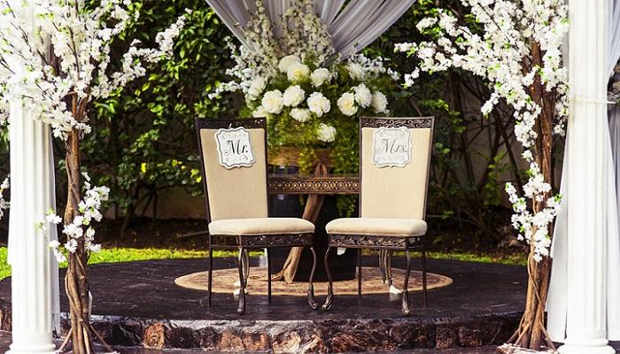 Estilos de decoración de boda
