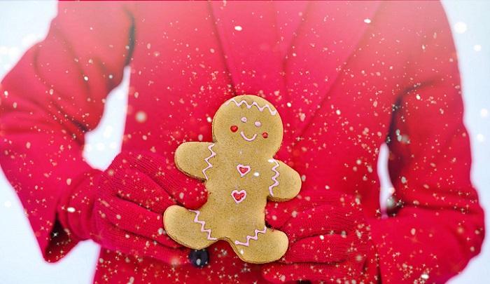 Celebrar la Navidad con amigos