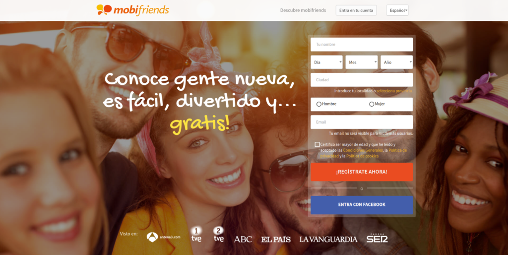 Web de mobifriends.com